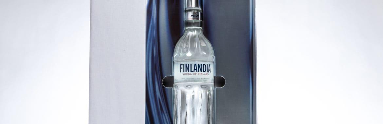 Finlandia Vodka Box Open