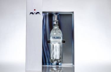 Finlandia Vodka Box Open