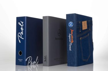 Petra and Holum Binders and Slipcases