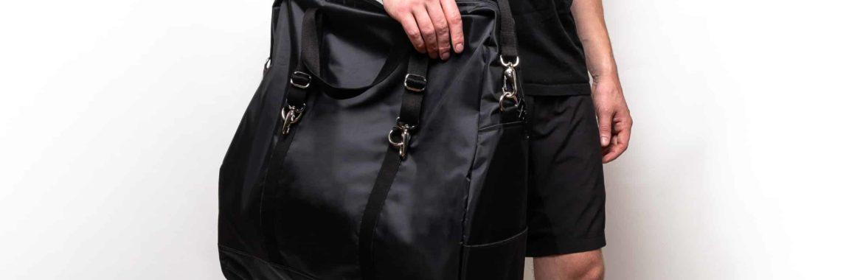 Black Yoga Bag
