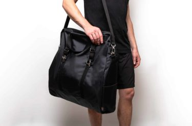 Black Yoga Bag